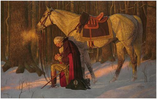Prayer at Valley Forge