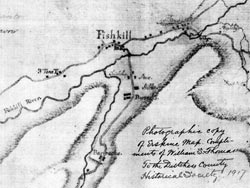 1778 map of the Depot